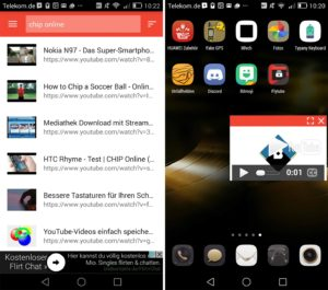 Flytube app lets you watch YouTube videos anywhere you want