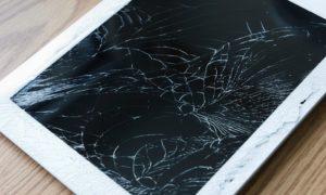 cracked ipad