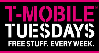 T-mobile Tuesdays Giveaways